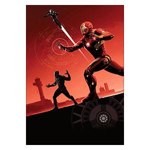 Captain America. Размер: 35 х 50 см